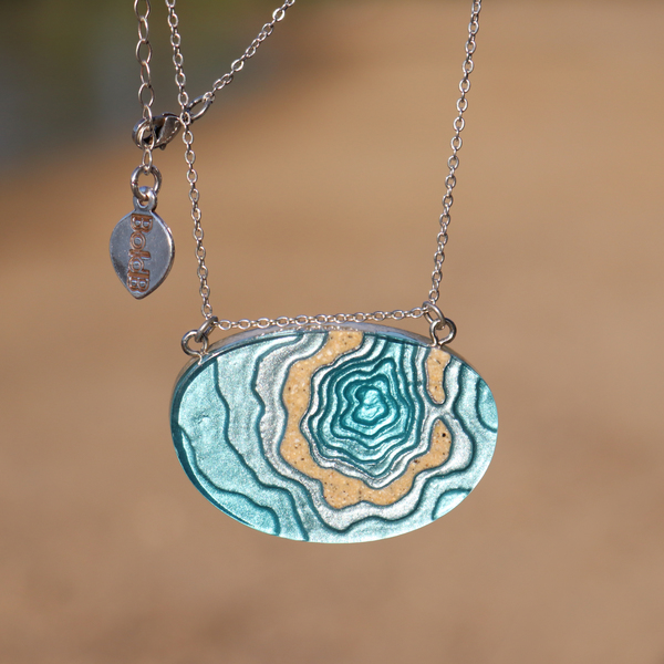 Atoll Necklace in natural light