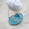 Atoll necklace aqua 002