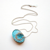 Atoll necklace aqua 006