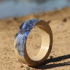 Ultramarine estuary bangle in natural light