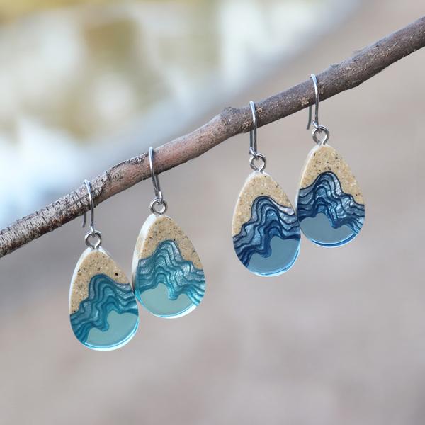 Seashore Dangle Earrings