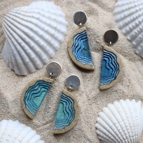 Inlet Statement Earrings