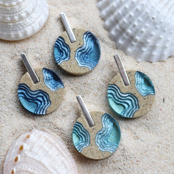 Isthmus Statement Earrings