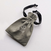 Boldb grey cotton gift pouch