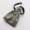 Boldb grey cotton gift pouch